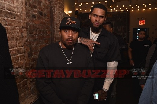 Celeb Sightings: Nas, ASAP Bari, Yara Shahidi, Dave East Attend Tupac's Powamekka Café and Tupac by VLONE Launch Event [Photos]