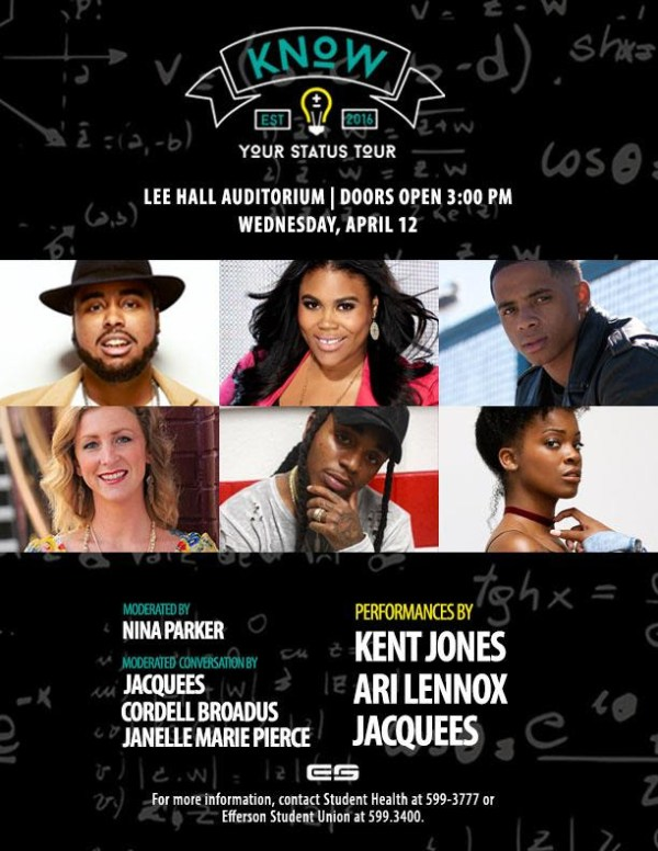 "Nina Parker, Karen Civil, Don Benjamin, Amber Rose Join the ""Know Your Status"" Aids Tour [Events]"