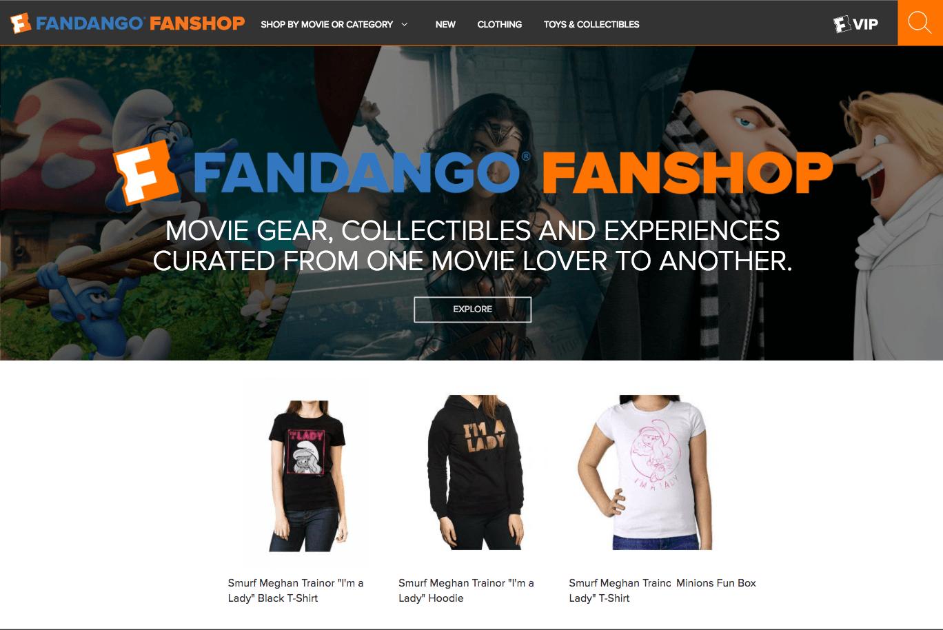 """Meghan Trainor Unveils """"I'm a Lady"""" Smurf Apparel on Fandango FanShop [Fashion]"""