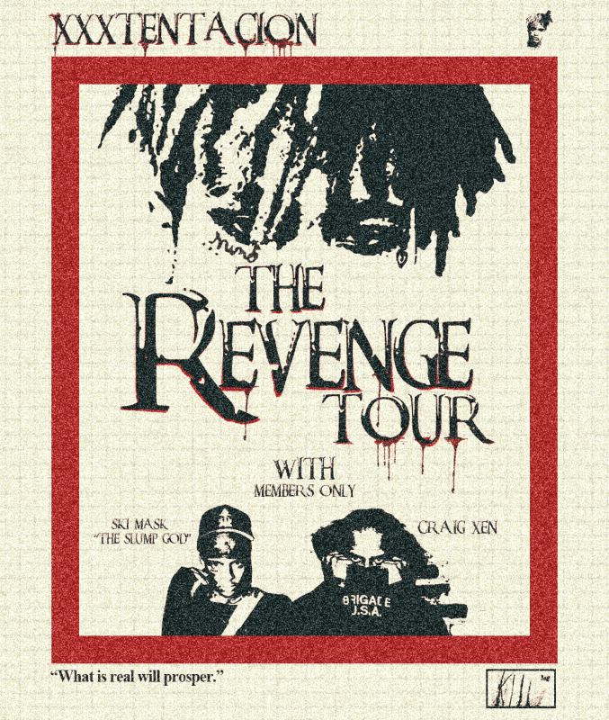 """XXXTentacion Announces The Revenge Tour with Ski Mask """"The Slump God"""" & Craig Xen [Music News]"""