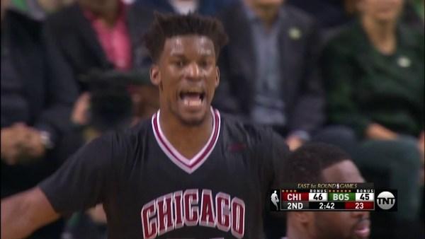 Dwyane Wade and Jimmy Butler Score 40 Points in Game 5 in Boston   April 26, 2017