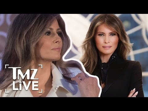 Melania Trump's Official First Lady Portrait Released | TMZ Live