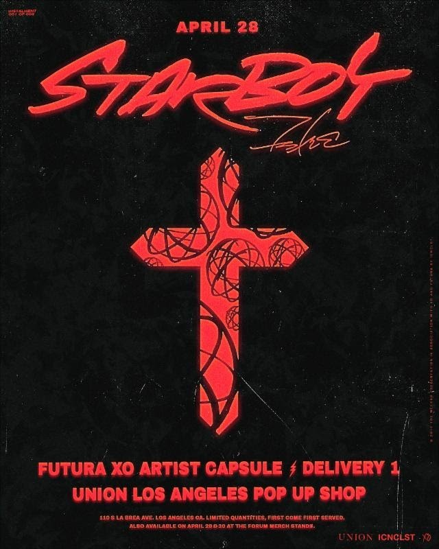 The Weeknd and Futura 2000 Announce Limited Edition Capsule Collection [Event]