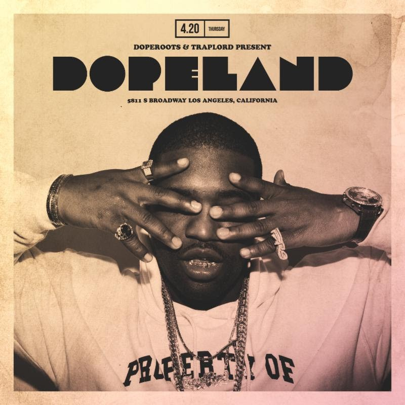 A$AP Ferg's Traplord & Dopeland Event in Downtown LA on 4/20 [Event]