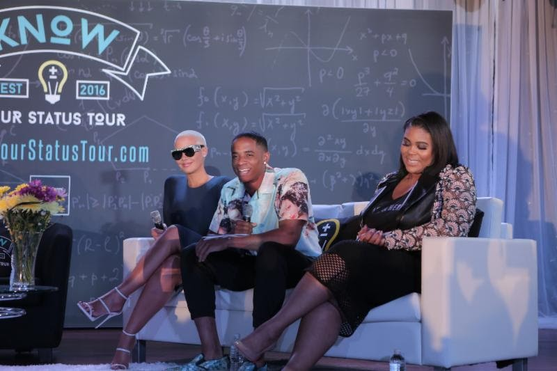Amber Rose, Nina Parker, Jacquees Educate Clark Atlanta University Students On STD Prevention [Photos]