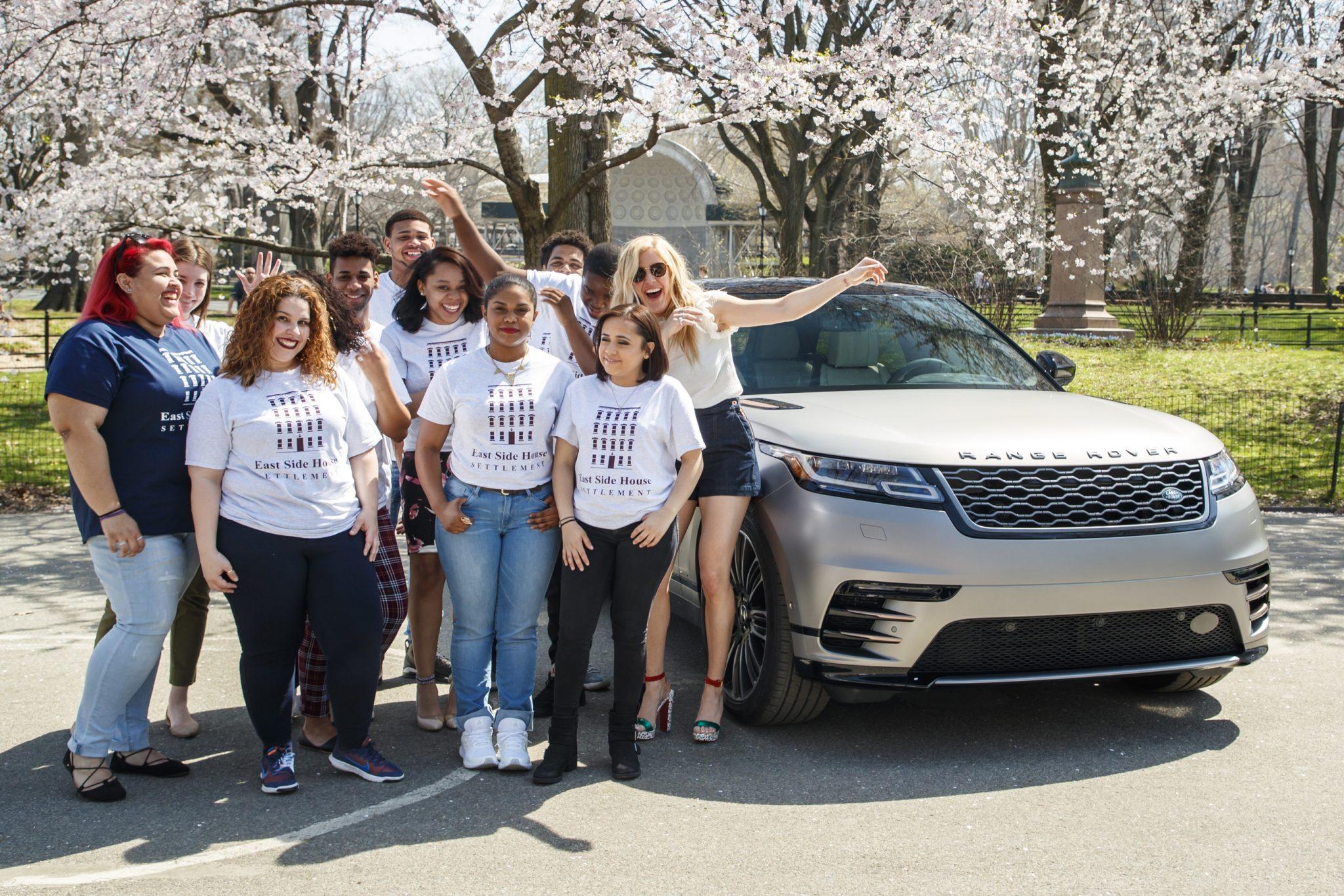 Ellie Goulding Drives New Range Rover Velar in New York [Photos]