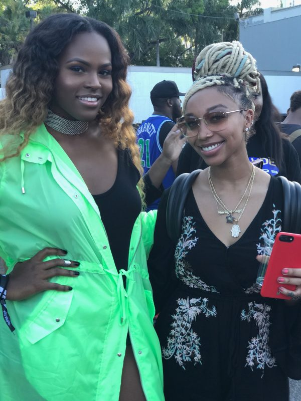 Celeb Sightings: Teenear with Zoey Dollaz, Dreezy, Polly A, Zonnique and Shaheem Reid
