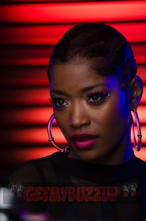 Keke Palmer BTS Photos From 'Wind Up' Video Shoot