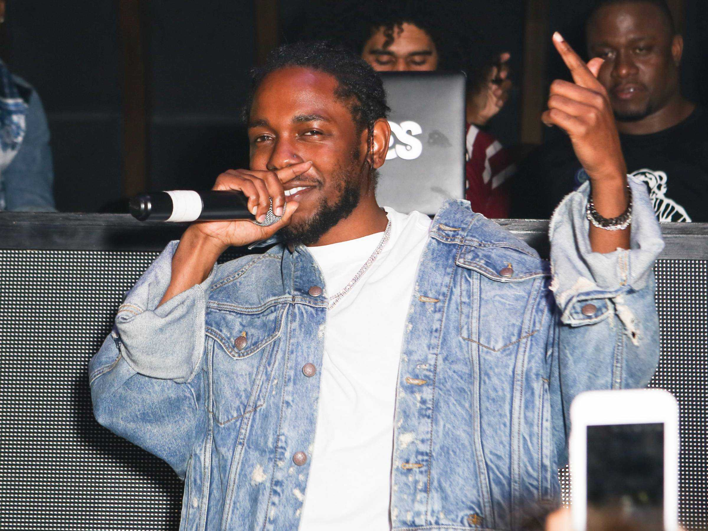 Kendrick Lamar & Lana Del Rey Celebrate Their Birthday at 1OAK [Photos]