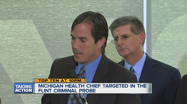 Michigan health chief charged with involuntary manslaughter in Flint Water Crisis
