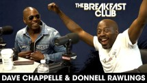 Dave Chappelle Talks the Passing of Charlie Murphy, Bill Cosby on The Breakfast Club [Interview]