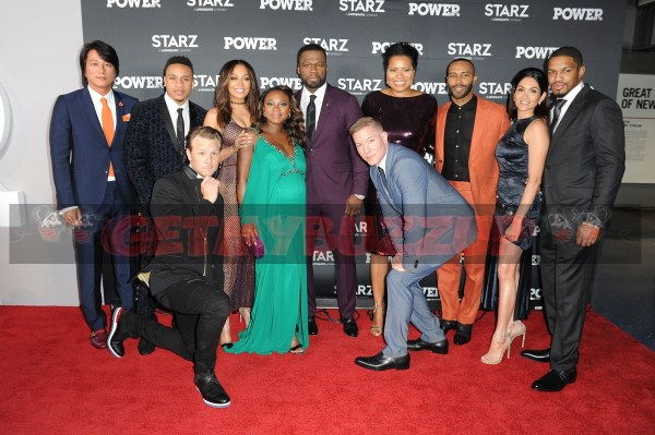 WASHINGTON, DC - JUNE 8: Cast, executives, and guests  arrive to the Power Season 4 premiere at the Newseum on Thursday, June 8, in Washington DC, USA. (Photo by Aaron J. / RedCarpetImages.net)