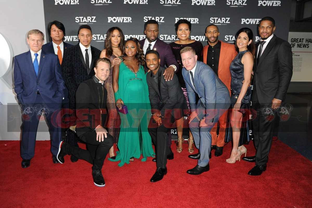 THE CAST OF STARZ'S #1 SERIES POWER ATTEND SEASON 4 PREMIERE EVENT [PHOTOS]