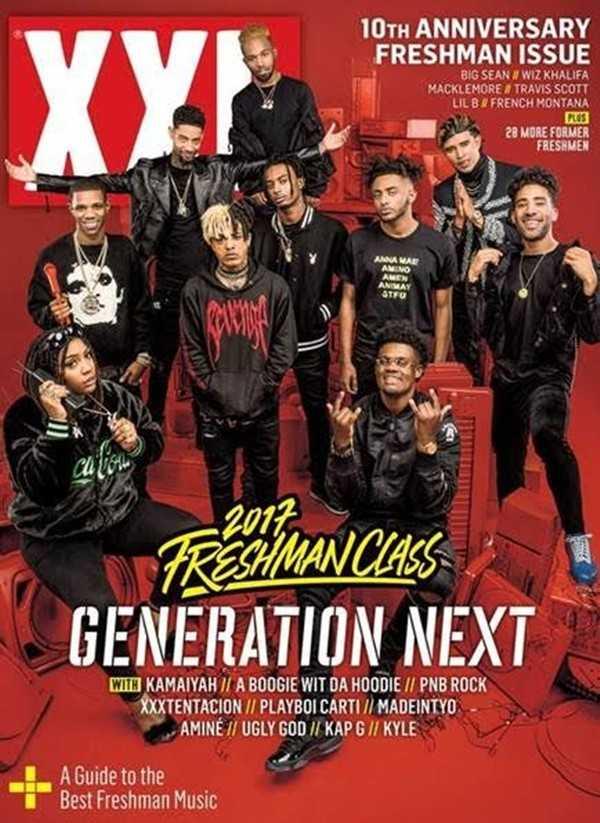 UGLY GOD Graces XXL's FRESHMAN CLASS 2017 Cover