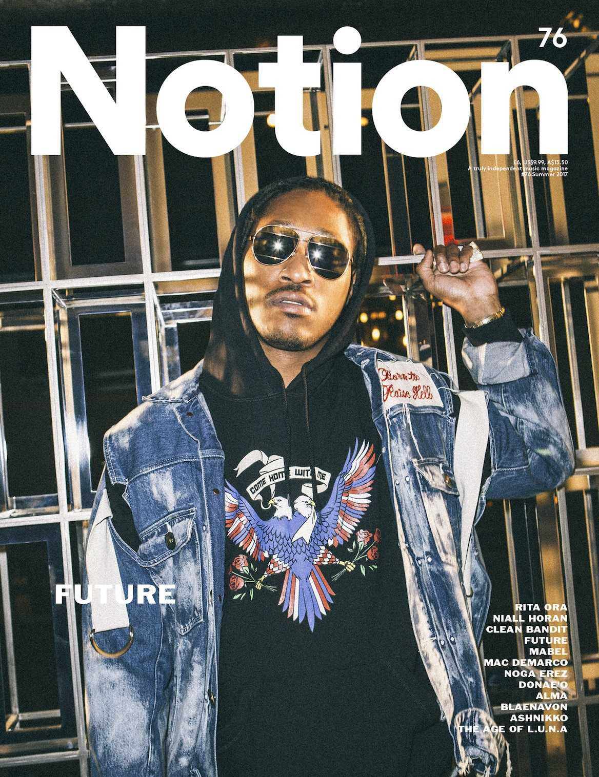 King of the ATL, Future Covers Notion 76 [Magazine Cover]