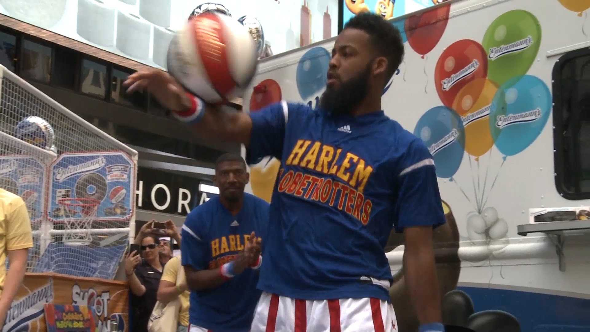 The Harlem Globetrotters Celebrate National Donut Day