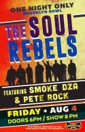 The Soul Rebels To Take Over Brooklyn Ft Pete Rock & Smoke DZA