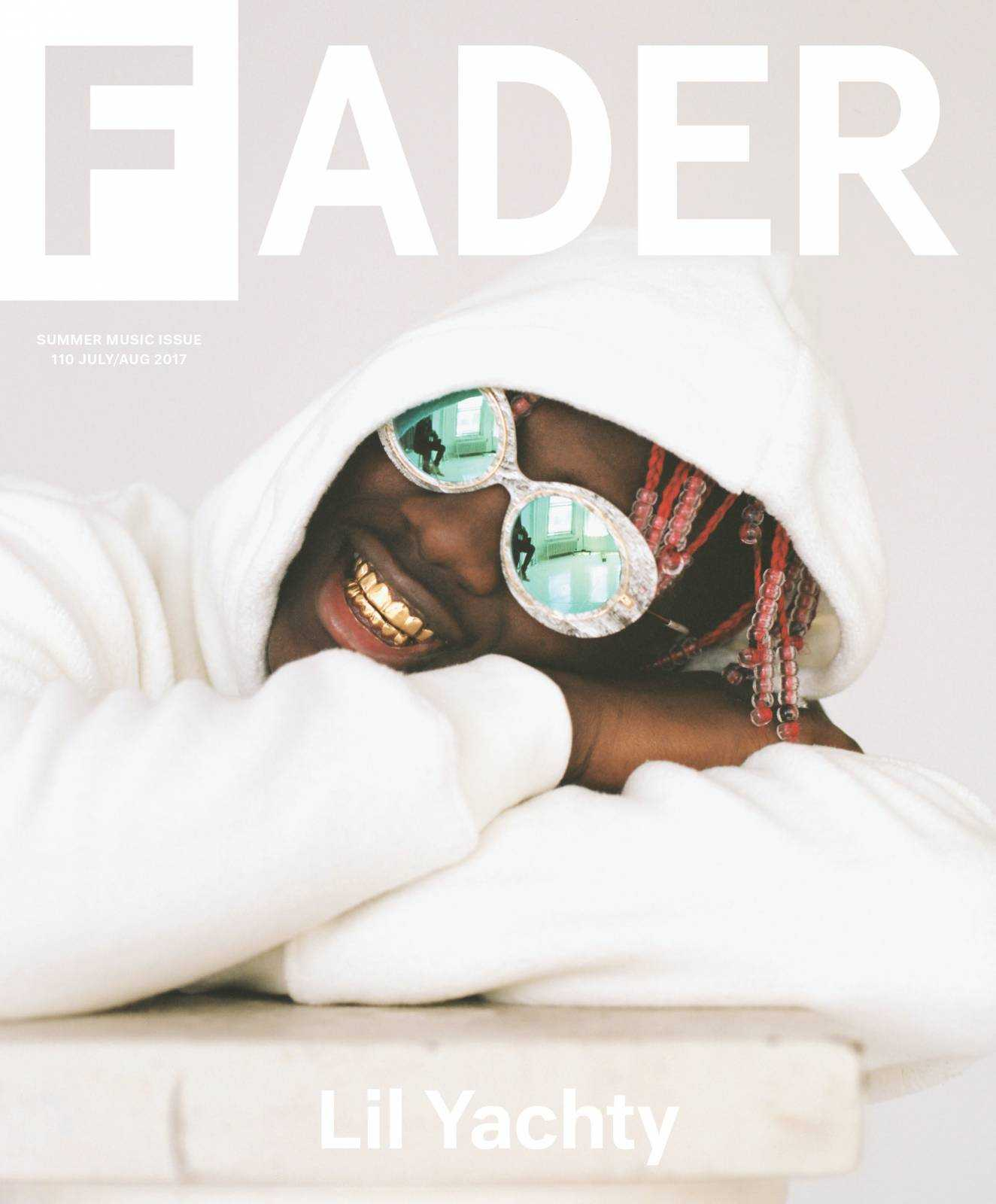 Lil Yachty Covers The FADER's Summer Music Issue [Magazine Cover]