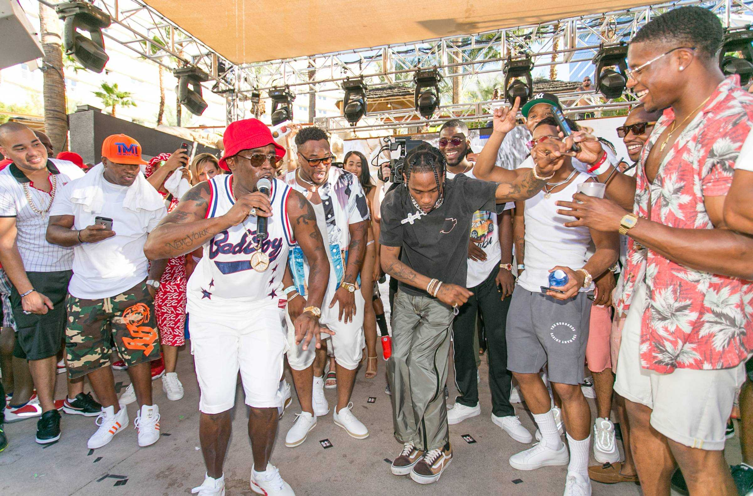 Puff Daddy, Meek Mill, Ice Cube And More Celebrate Historic Fight Weekend At Hard Rock Hotel & Casino [Photos]