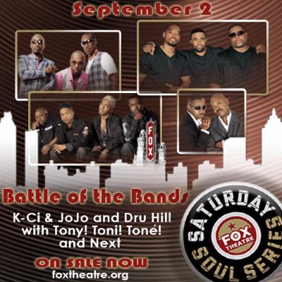K-Ci & Jojo, Dru Hill to Headline Battle of the Bands #GoodMusicStillLives