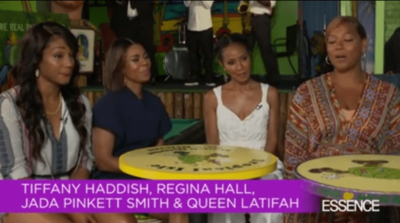 The cast of Girl Trip on Grapefruiting [Interview]