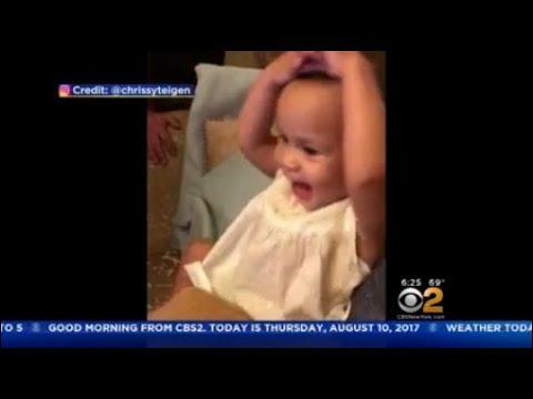 John Legend's Daughter Gets Excited Seeing Her Dad On Sesame Street