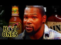 "Kevin Durant tries Spicy ""Wings of Death"" on Hot Ones [Video]"