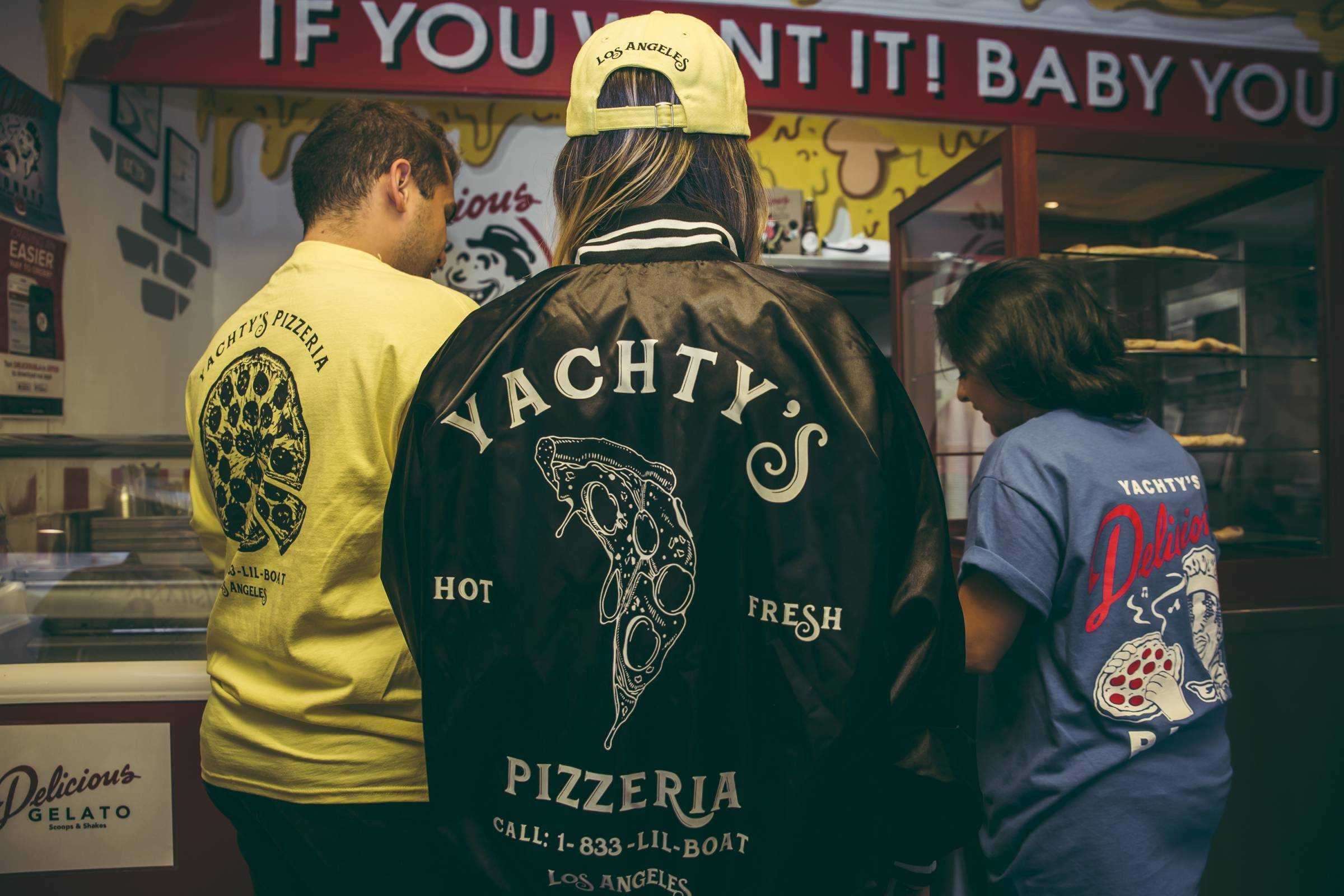 Lil' Yachty Delivers 'Yachty's Pizzeria' to Delicious Pizza in LA [Photos]
