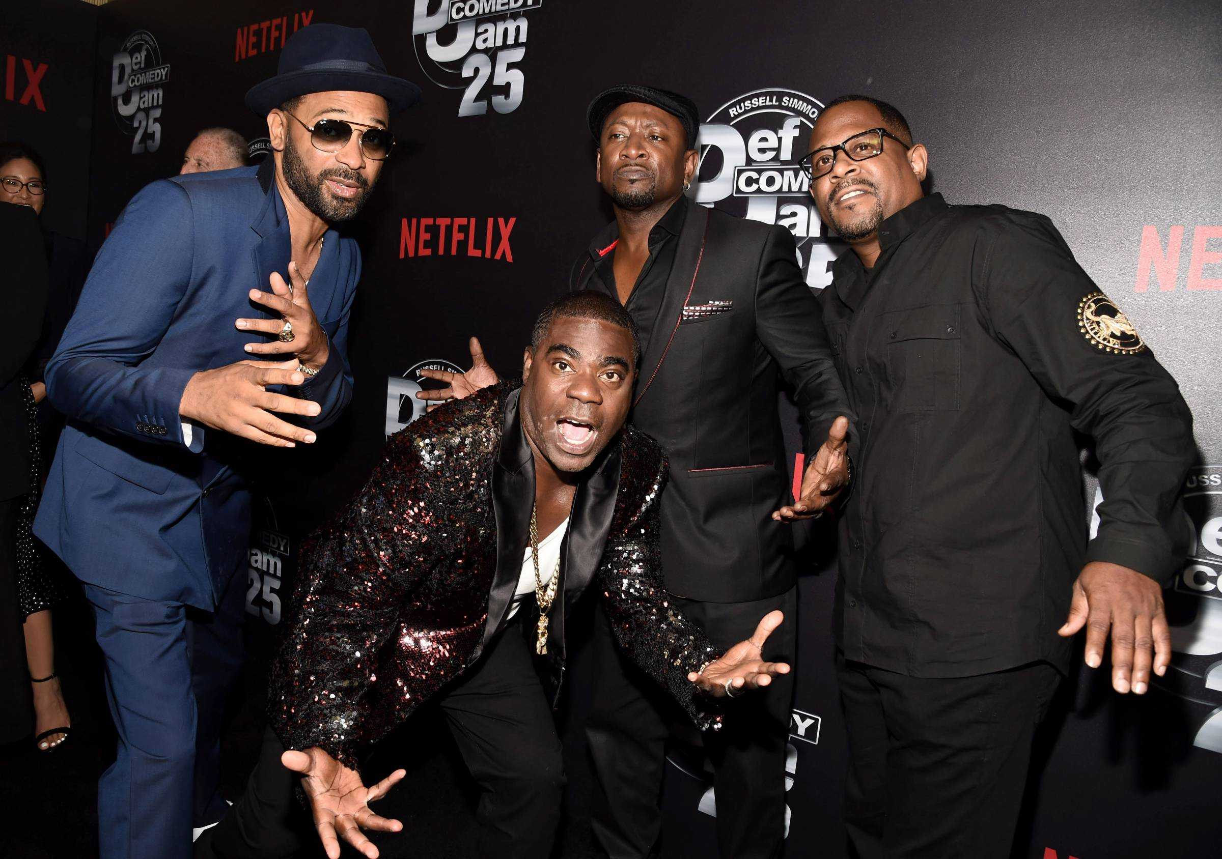 DEF COMEDY JAM 25 LAUNCHES SEPTEMBER 26TH ON NETFLIX! (Red Carpet Photos)