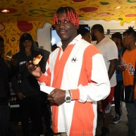 Lil' Yachty Pops Up at 'Yachty's Pizzeria' in LA [Photos]