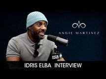 Actor Idris Elba Talks Being In Love with Angie Martinez