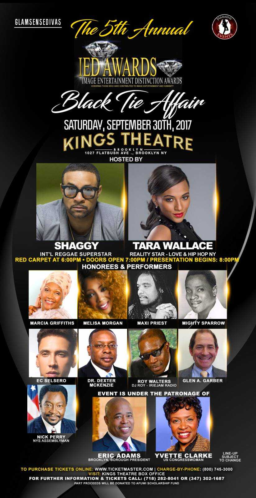 Shaggy and #LHHNY Tara Wallace to Host Image Entertainment Distinction Awards 9/30