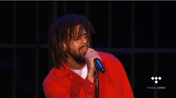 Watch: J. Cole Performing Live at 2017 Made In America Festival Set