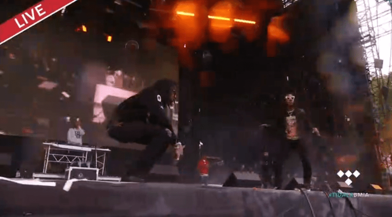 Watch: Migos Performing Live at 2017 Made In America Festival Set
