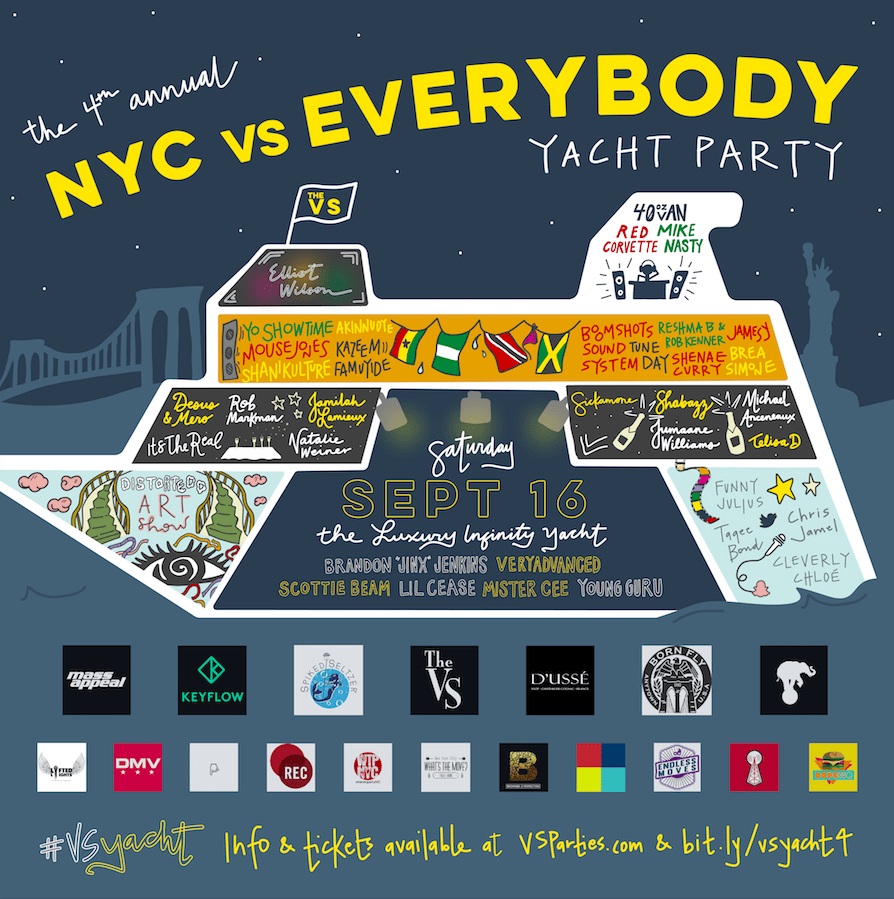 THE 4TH ANNUAL NYC VS EVERYBODY YACHT PARTY [Events]