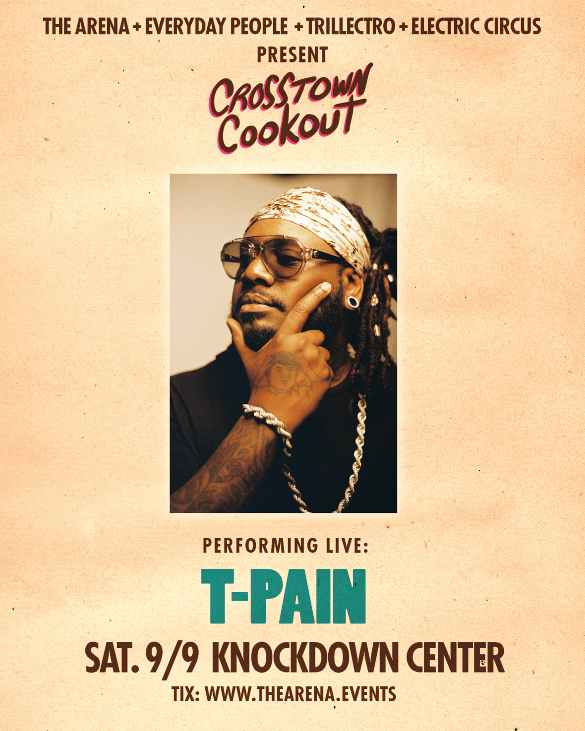 Crosstown Cookout with T-Pain at Knockdown Center in Queens [Events]
