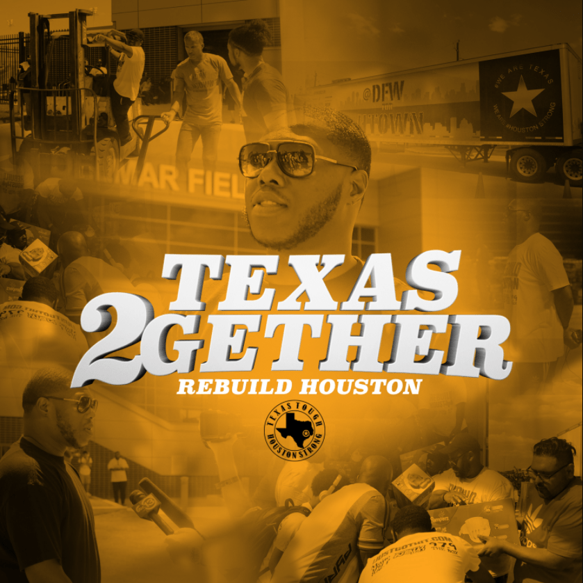 Z-Ro teams with Dallas and Houston artists for #HurricaneHarvey