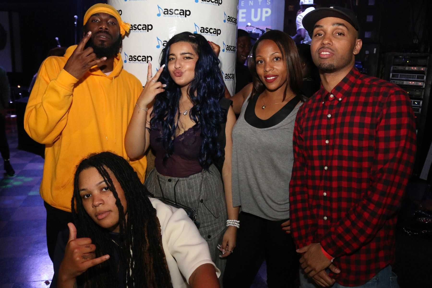 "Liana Banks, Dougie F Performed at ASCAP's ""ON THE COME UP"" SHOWCASE IN NYC AT SOB'S"