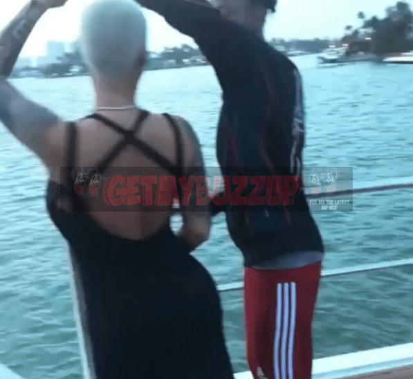 21 Savage and his Bae Amber Rose share a Bday Dance