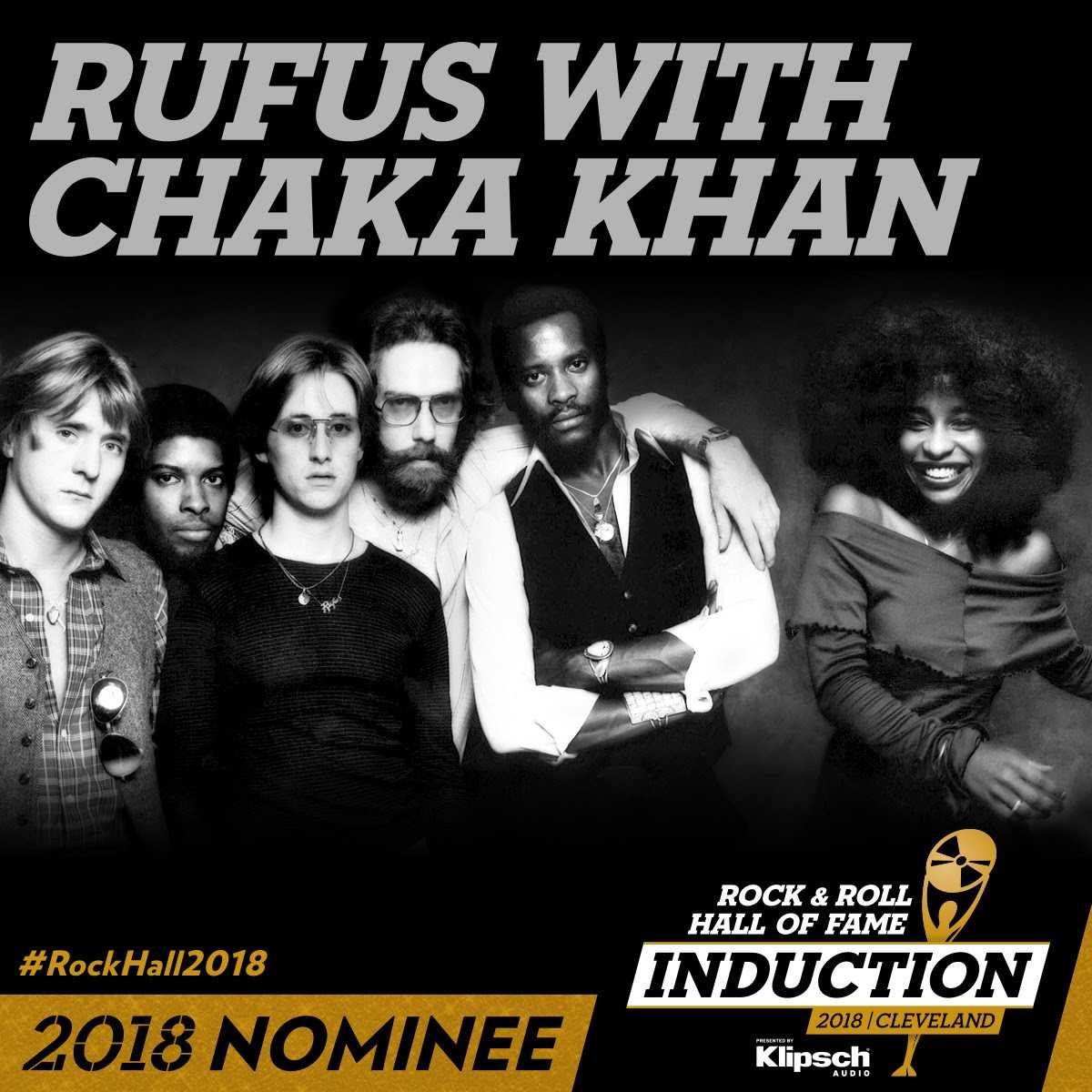 Chaka Khan Nominated for The Rock and Roll Hall of Fame 2018