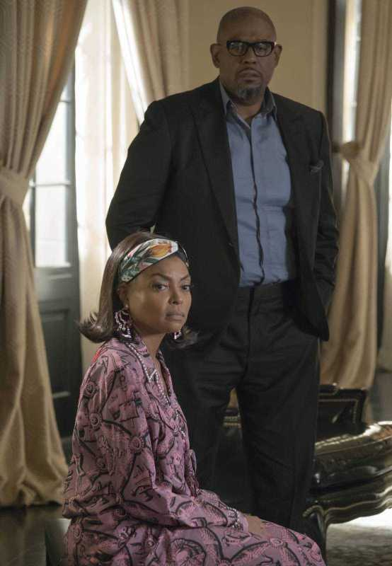"""EMPIRE: Pictured L-R: Taraji P. Henson and guest star Forest Whittaker in the """"Full Circle"""" episode of Wednesday, Oct. 4 (8:00-9:00 PM ET/PT) on FOX. ©2017 Fox Broadcasting Co. CR: Chuck Hodes/FOX"""