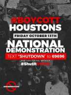 Major Protest Tmrw @ Houstons Steakhouse Over Racism
