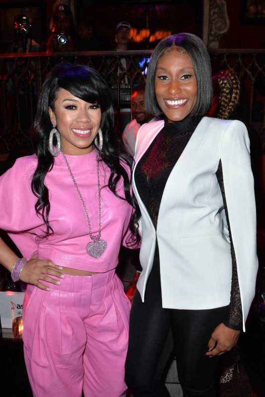 Singer Keyshia Cole and Ericka Coulter