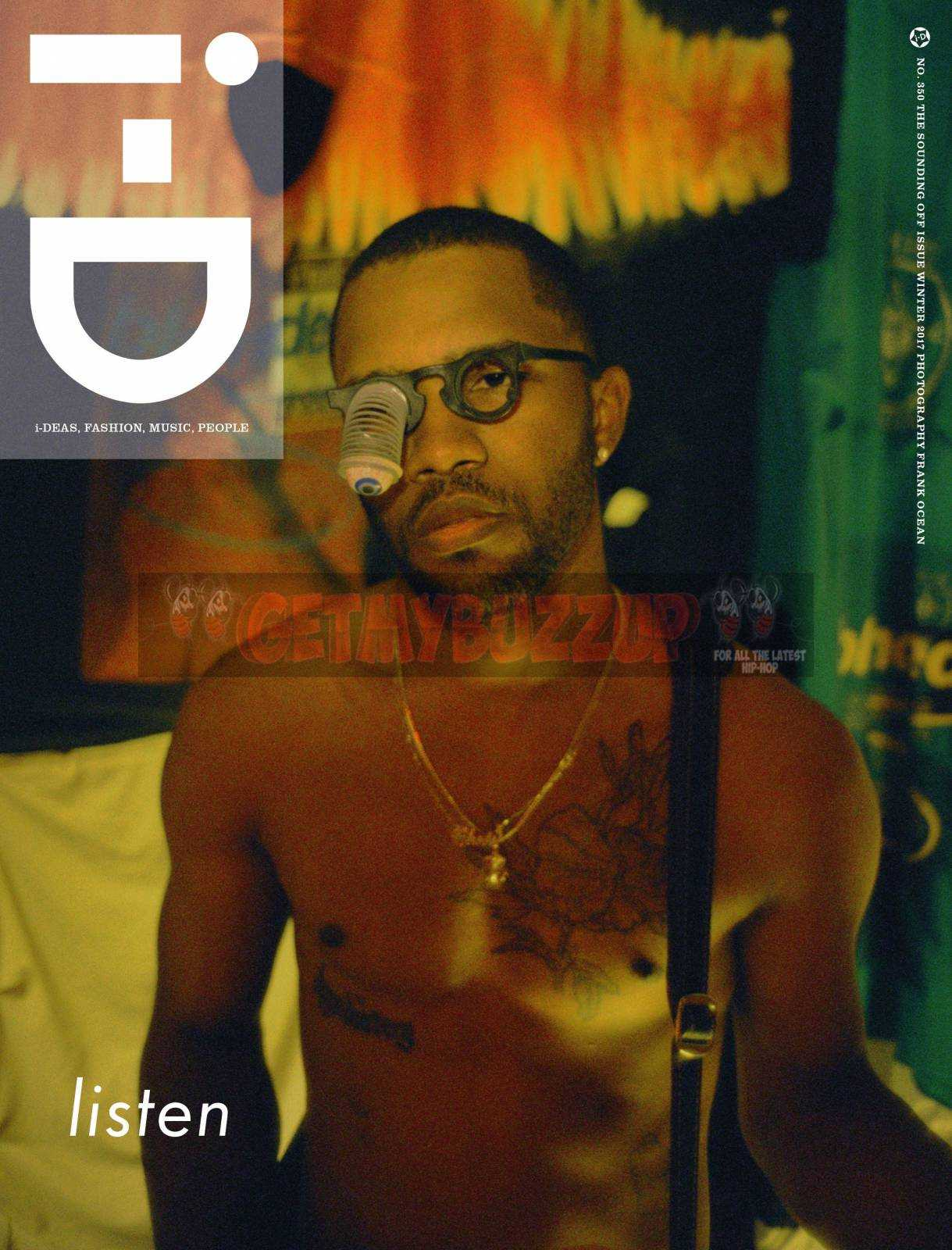 Frank Ocean Appears On 2nd Cover of i-D Magazine's Winter 2017 Issue