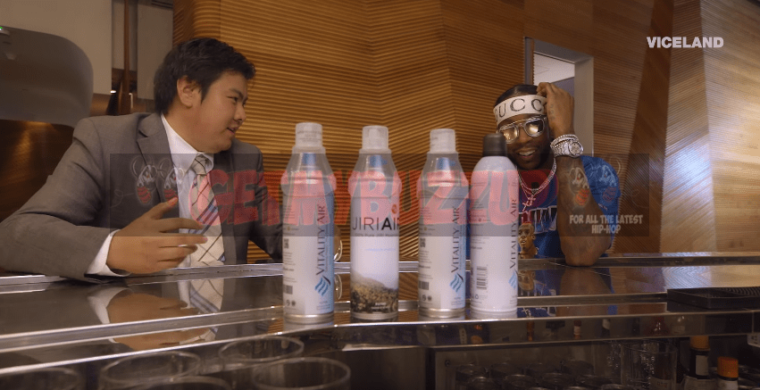 Watch: 2 Chainz Inhales $10,000 Air In A Can #MOSTEXPENSIVEST [Video]