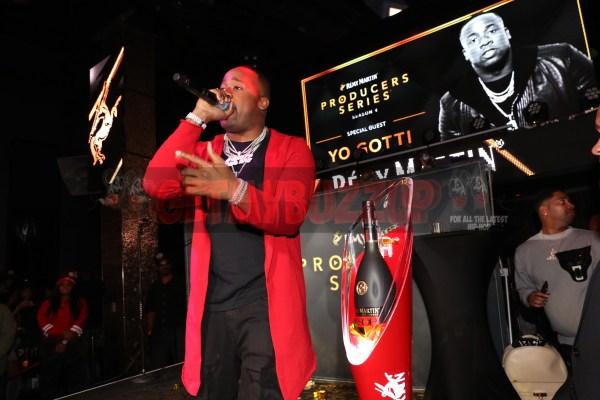 LAS VEGAS, NV - NOVEMBER 09:  Yo Gotti attends The Remy Martin Producers Series Season 4 Finale on November 9, 2017 in Las Vegas, Nevada.  (Photo by Johnny Nunez/Getty Images for Remy Martin)