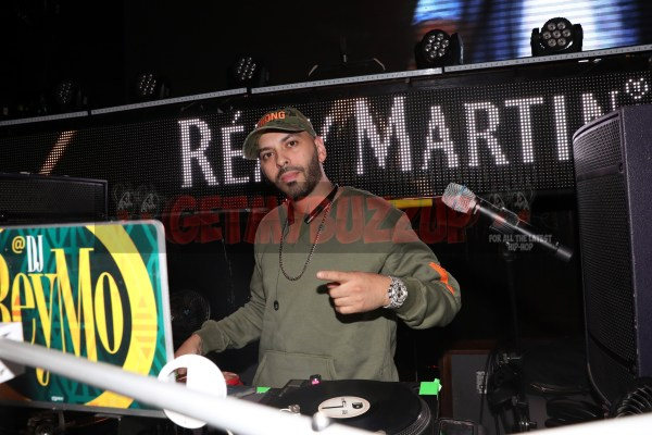 LAS VEGAS, NV - NOVEMBER 09:  DJ Reymo spins at The Remy Martin Producers Series Season 4 Finale on November 9, 2017 in Las Vegas, Nevada.  (Photo by Johnny Nunez/Getty Images for Remy Martin)