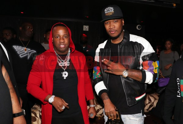 LAS VEGAS, NV - NOVEMBER 09:  (L-R) Yo Gotti and Severe Jones attend The Remy Martin Producers Series Season 4 Finale on November 9, 2017 in Las Vegas, Nevada.  (Photo by Johnny Nunez/Getty Images for Remy Martin)