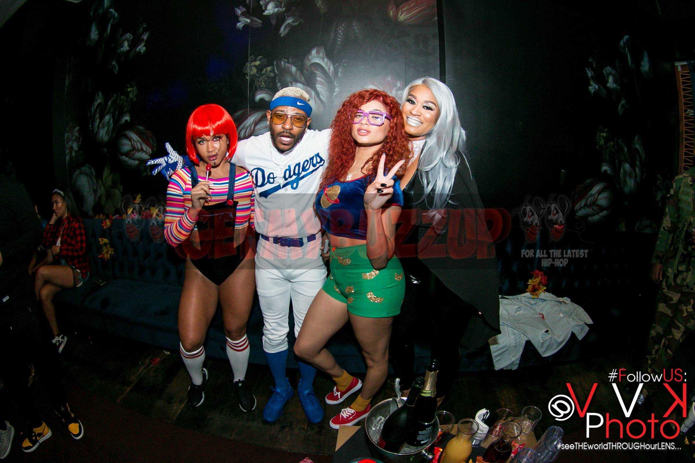 Laz Alonzo, Tori Brixx, Rah Ali, Rosa Acosta, Silento and More Celebrate Halloween