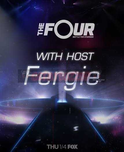 FERGIE to host 'THE FOUR' on FOX in January 2018 [NEWS]
